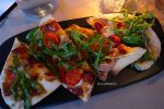 Pizzetta - buffalo mozzarella, aged balsamic, wild rocket