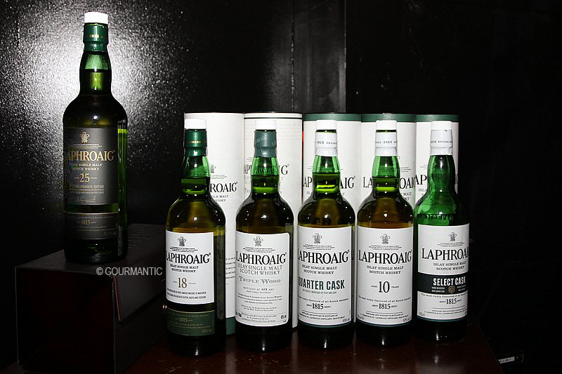 Laphroaig Whisky Masterclass with Dan Woolley