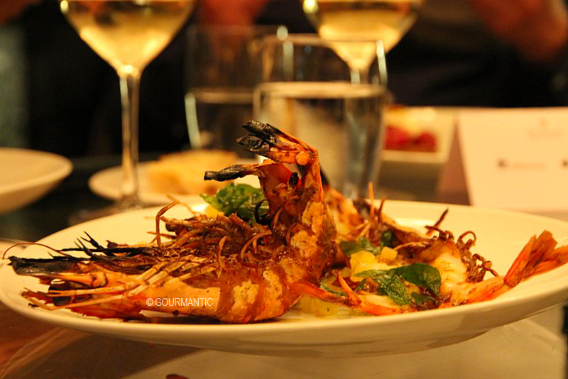 Tiger Prawns & Slow Cooked Pineapple