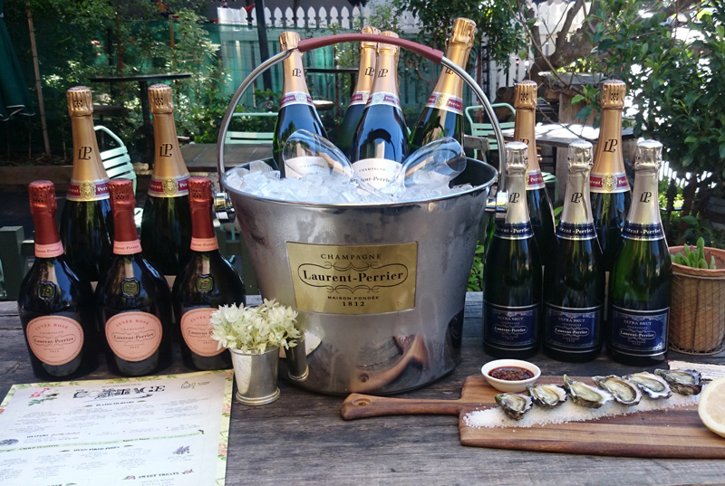 Melbourne Cup Day at the Cottage in Balmain with Laurent-Perrier