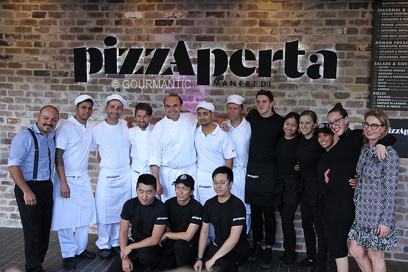 Pizzaperta, The Star Sydney