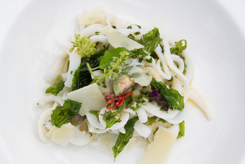 Cuttlefish Pasta with Thai Inspired Pesto - Sharone - SAMUI
