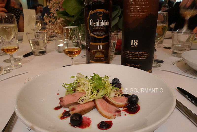 Glenfiddich Chef Challenge Charity Degustation Dinner