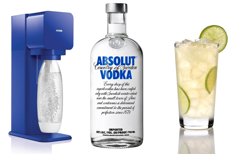 Sodastream and ABSOLUT