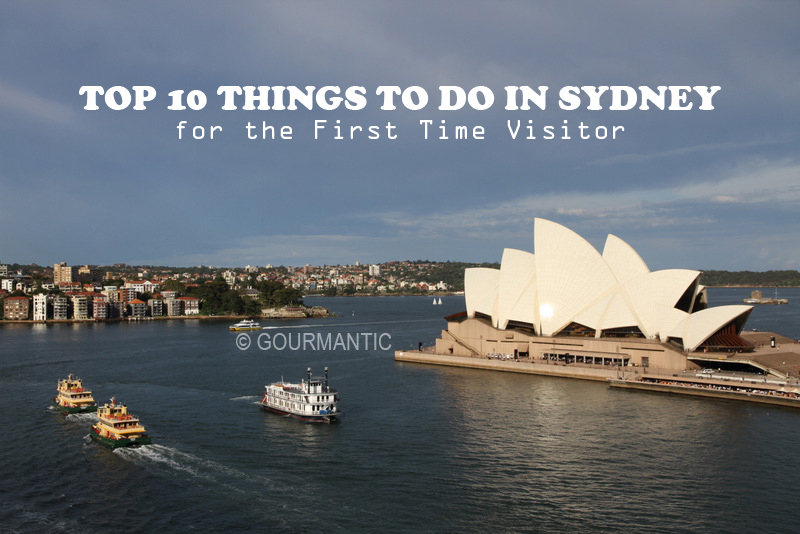Sydney top 10 things to do