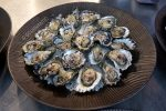 NSW Oysters with Granny Smith Eschallots Dill Oil