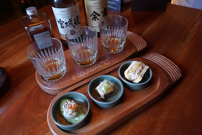 Nikka Whisky at Saké Restaurant & Bar