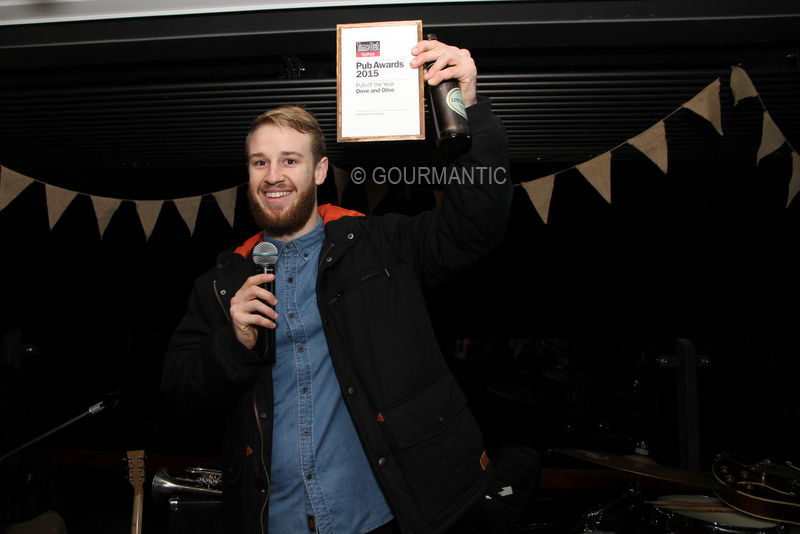 Time Out Pub Awards Winners 2015