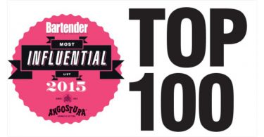 Australian Bartender Top 100 Most Influential List 2015