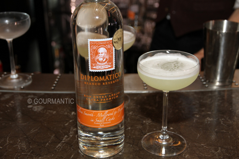 Diplomático Rum at Waterslide Bar