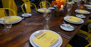 OzHarvest Kitchen Table Dinner