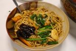Pan Fried Noodle with Shrimp and