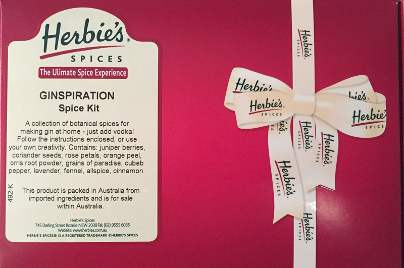 Herbie's Ginspiration Spice Kit