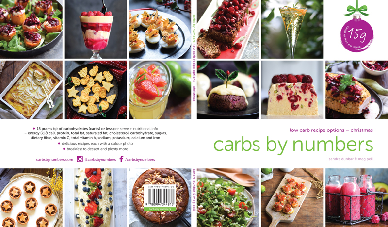 carbs by numbers – low carb recipe options – Christmas
