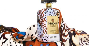 Disaronno wears Cavalli