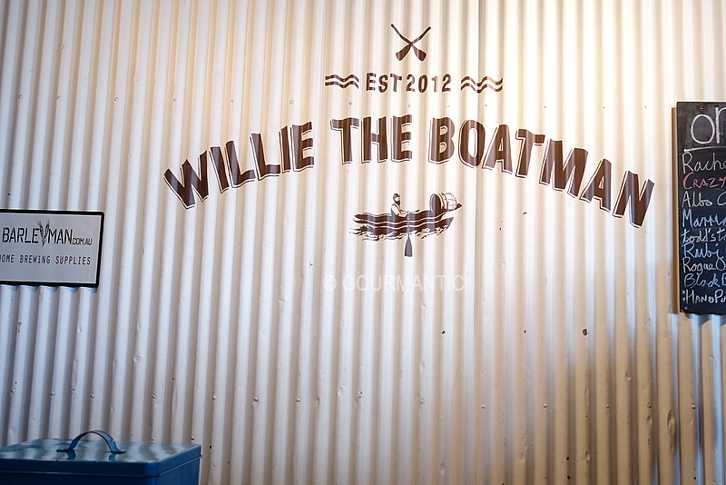 Willie the Boatman St Peters