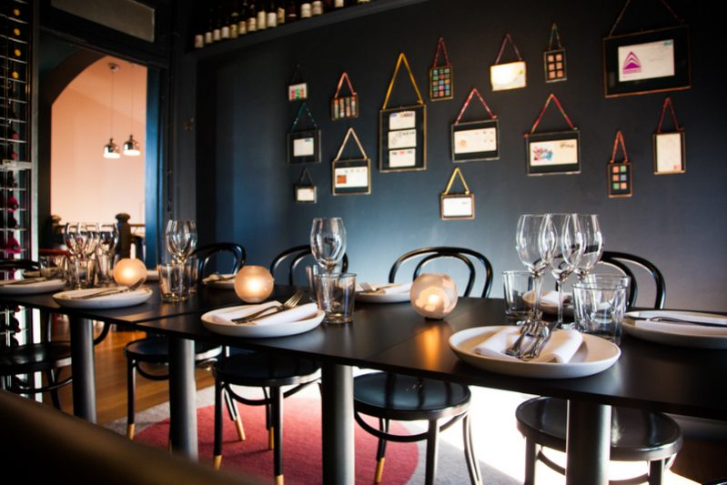 Vernon s bar summer hill gourmantic for Best private dining rooms sydney 2016