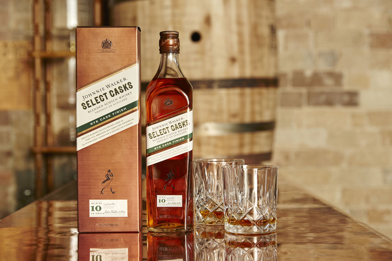 Johnnie Walker Select Casks Series Rye Cask Finish