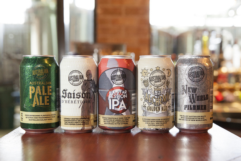Australian Brewery New Cans
