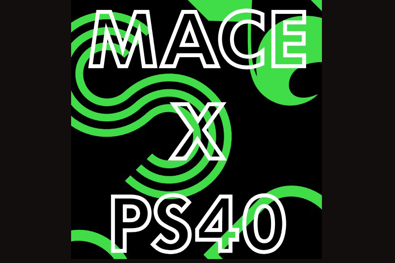 PS40 X Mace Pop Up