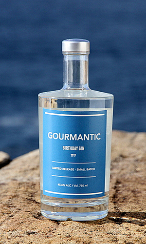 Gourmantic Birthday Gin 2017